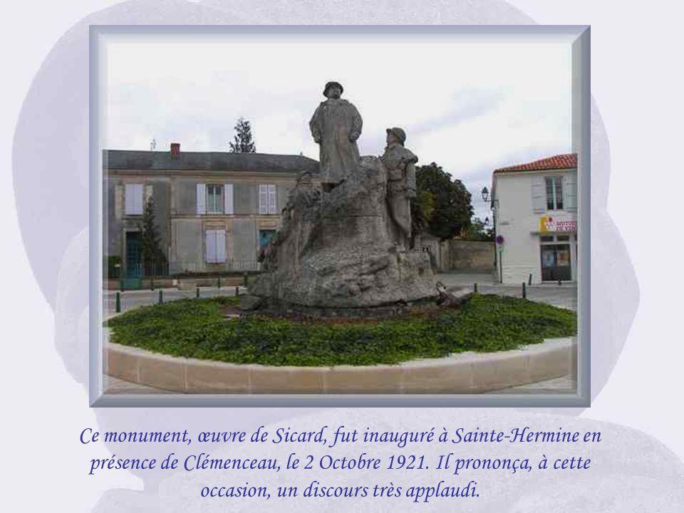 Après avoir vécu 25 ans à lAubraie avec sa femme et ses enfants, Clemenceau sinstalle, après son divorce en 1895, au 8 rue Franklin à Paris. Le 29 Jui