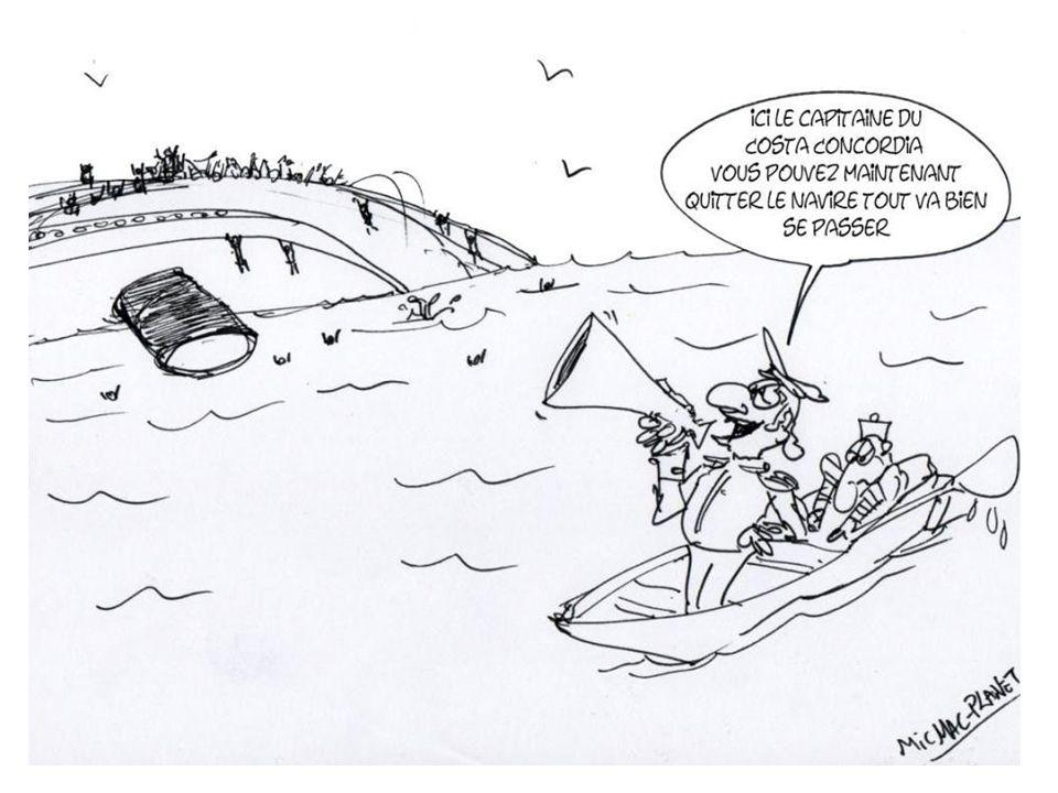 Amoco Cadiz Costa Concordia Erika Quel bateau sest échoué le 13 janvier 2012 au large de la Toscane ?