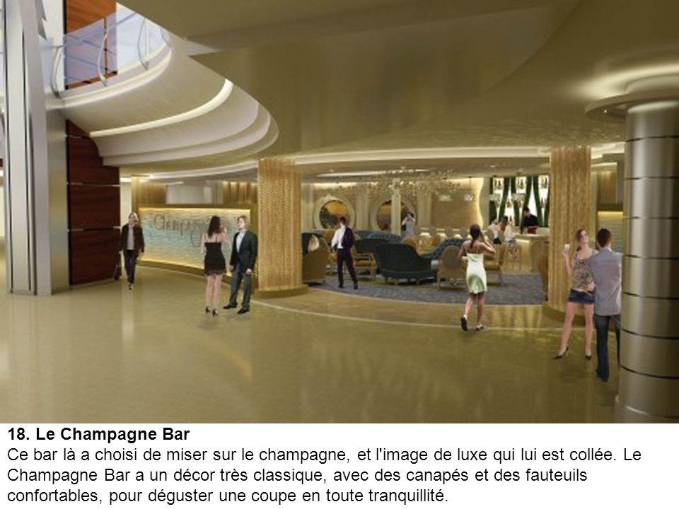 17. Le Boleros Bar A bord de l'''Allure of the Seas'', il y en a pour tous les goûts, pour tous les âges, et pour toutes les bourses, ou presque. De n