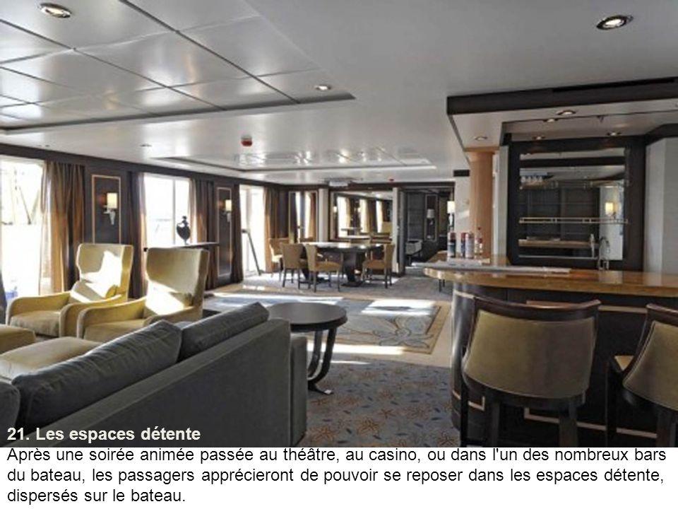 20. Le Blaze Nightclub Le Blaze Nightclub est l'une des boîtes de nuit situées sur l'''Allure of the Seas'', au pont numéro 4.