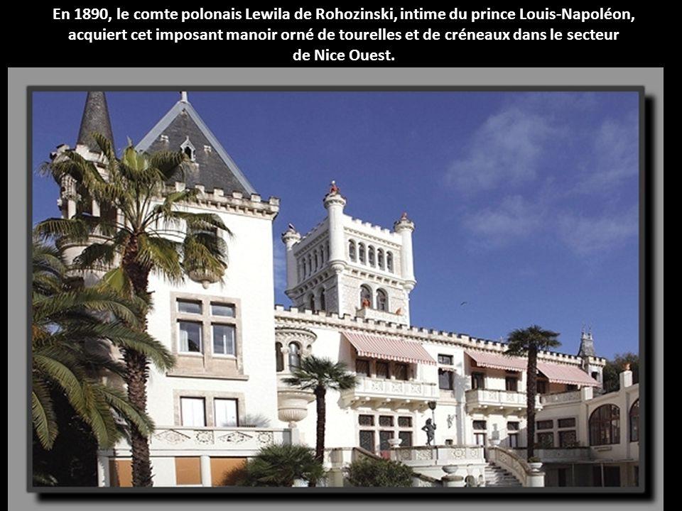 Dans le quartier de Carabacel, le Palais Pauline, chef d'œuvre de l'art déco, marque l'apogée des années 1900.