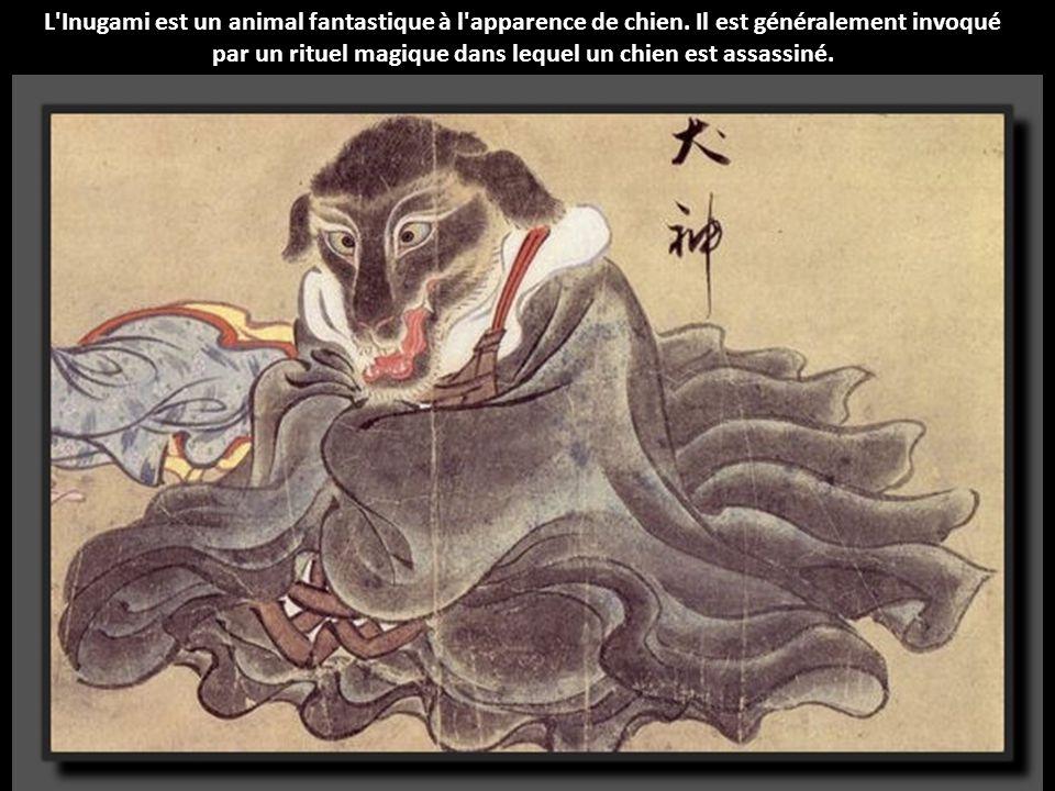 Otoroshi est une créature étrange. Son corps est recouvert de poils, seul son visage, ses crocs et ses griffes émergent de cette masse informe de four