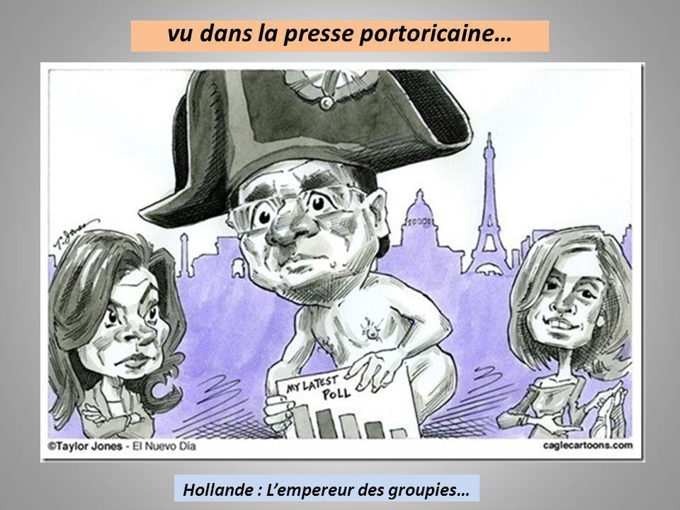 vu dans la presse US… Hollande et sa braguette magique..!!