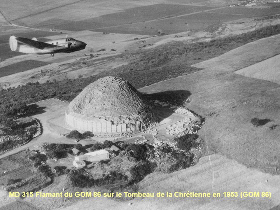 MD 315 Flamant du GOM 86 sur le Tombeau de la Chrétienne en 1953 (GOM 86)