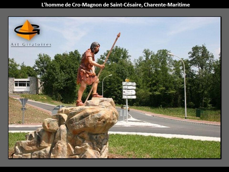 L homme de Cro-Magnon de Saint-Césaire, Charente-Maritime