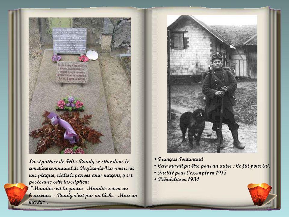 20 avril 1915, les fusillés de Flirey (Meurthe-et-Moselle). On devine, dans la fumée des fusils, un homme encore debout. Le cliché a été pris par Jean