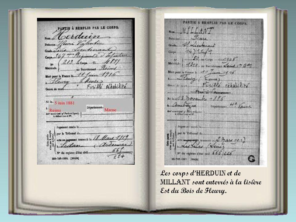 HERDUIN, officier d'active comptant 17 années de service, titulaire de la médaille militaire et de la médaille coloniale, demande à commander lui- mêm