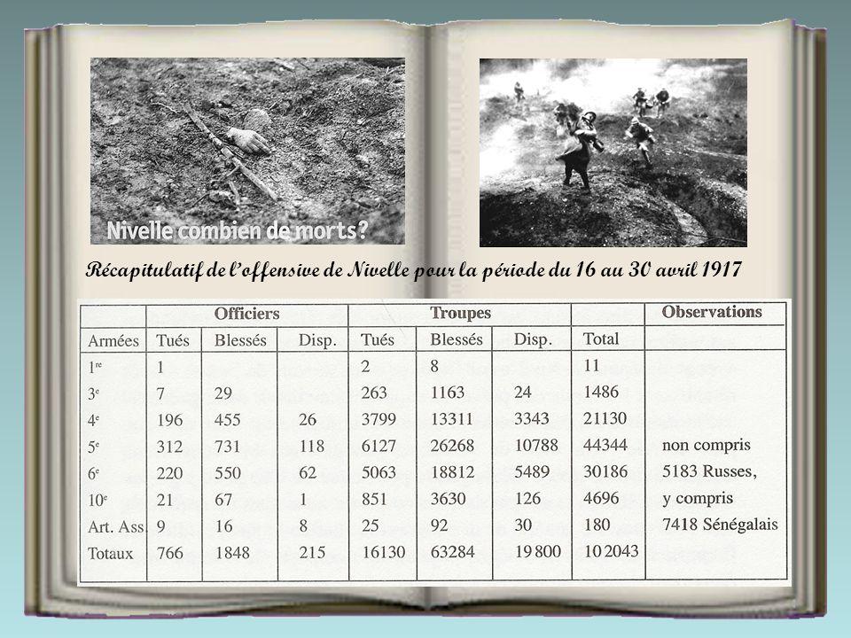 En avril 1917, l'état-major du général Nivelle décide de lancer une offensive définitive sur le front nord-est afin de mettre un terme victorieux à un