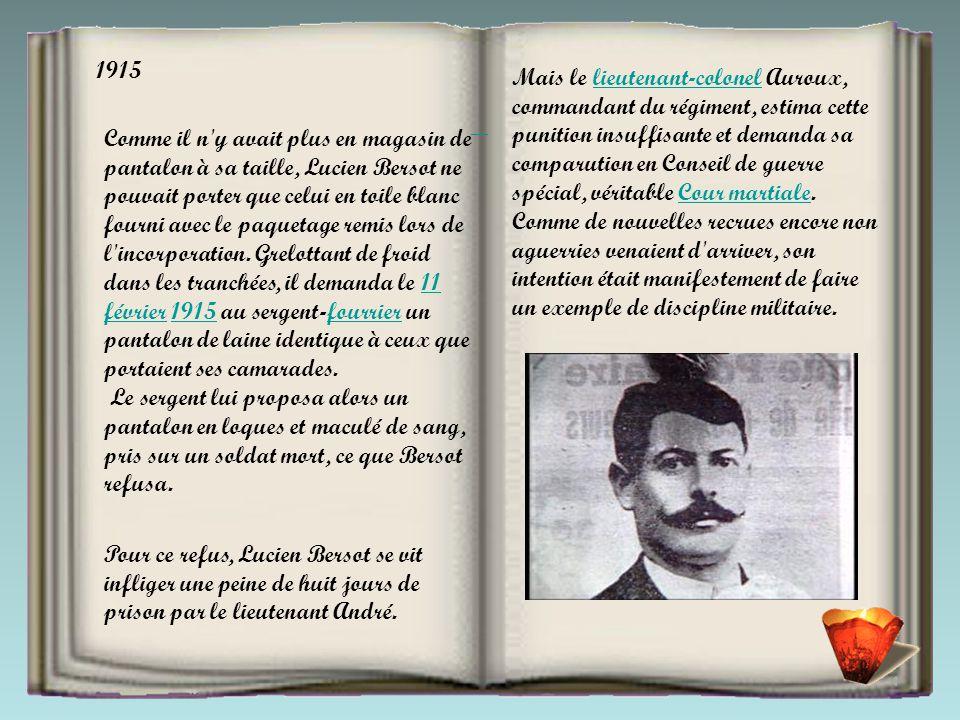 Ou comme Léonard Leymarie, soldat du 305 e régiment d'infanterie, condamné à mort et fusillé dans l'Aisne en décembre 1914, pour mutilation volontaire