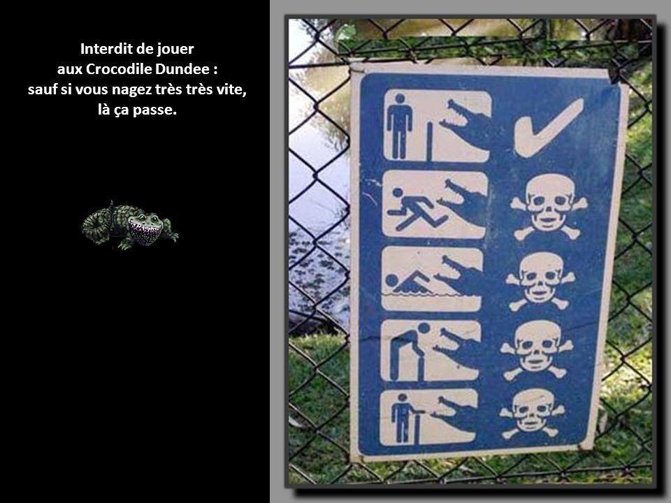 Panneaux dinterdiction insolites « Il est interdit dinterdire » a lâché toute une génération de jeunes sur les murs de mai 68. Et bien, il est temps d