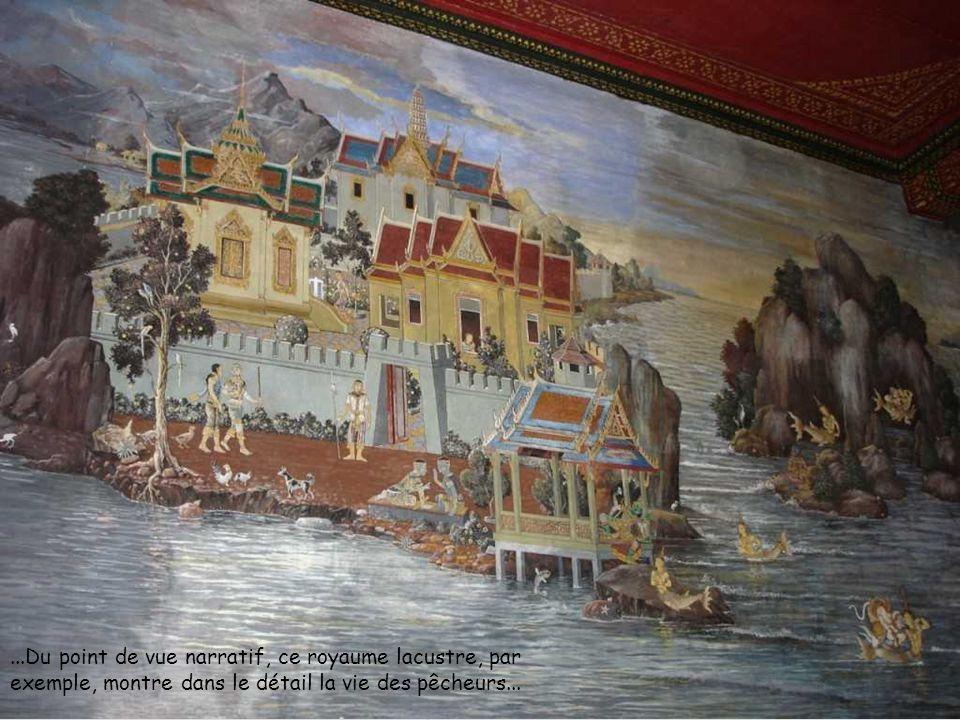 ...Du point de vue narratif, ce royaume lacustre, par exemple, montre dans le détail la vie des pêcheurs...