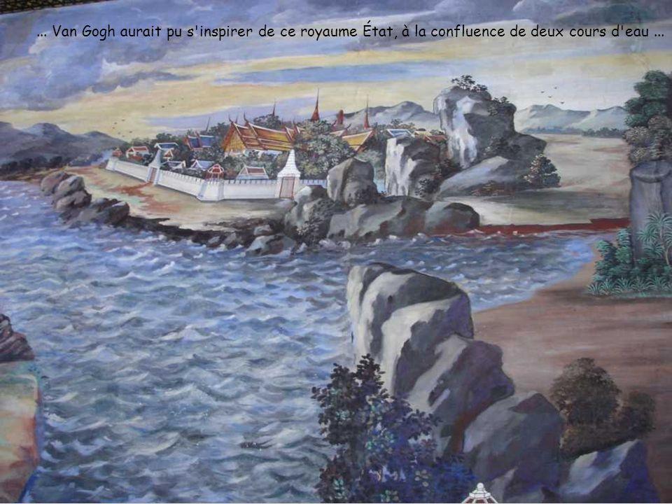 ... Van Gogh aurait pu s inspirer de ce royaume État, à la confluence de deux cours d eau...