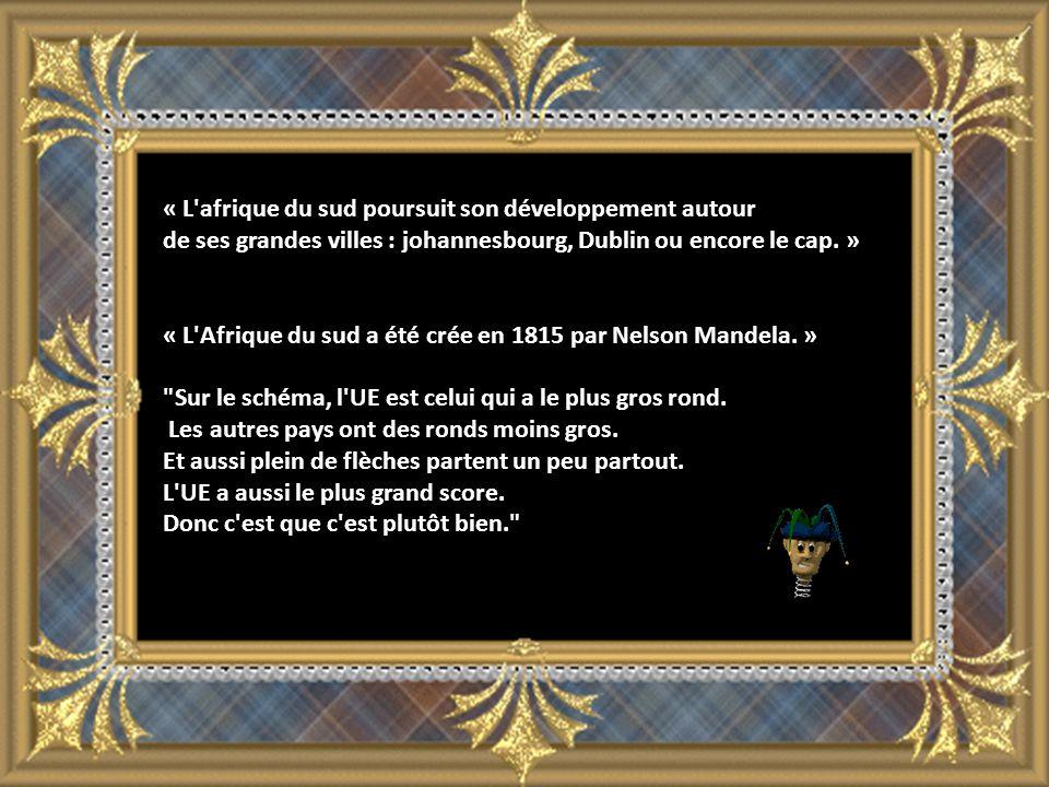 « L afrique du sud poursuit son développement autour de ses grandes villes : johannesbourg, Dublin ou encore le cap.