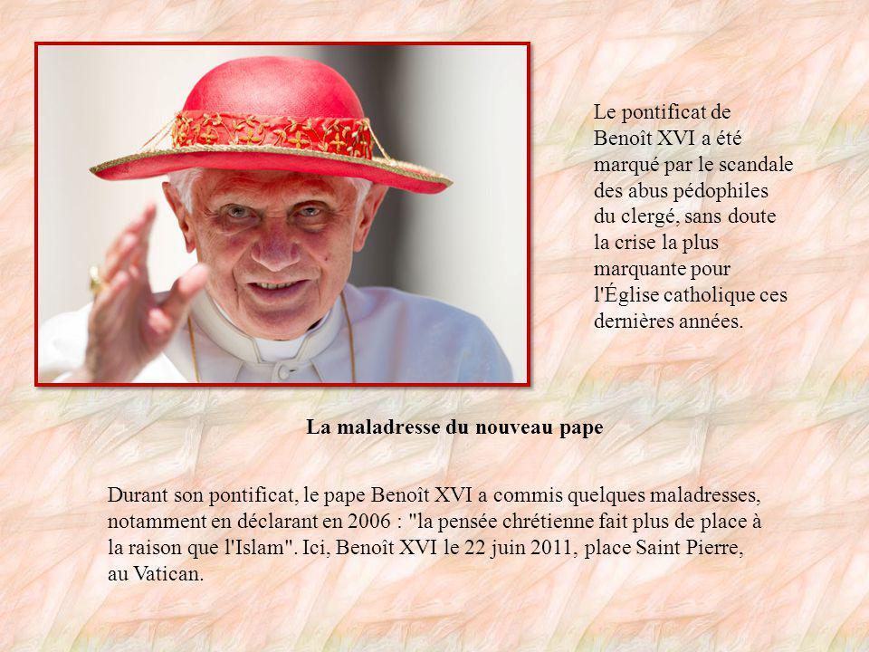 Un pape austère .