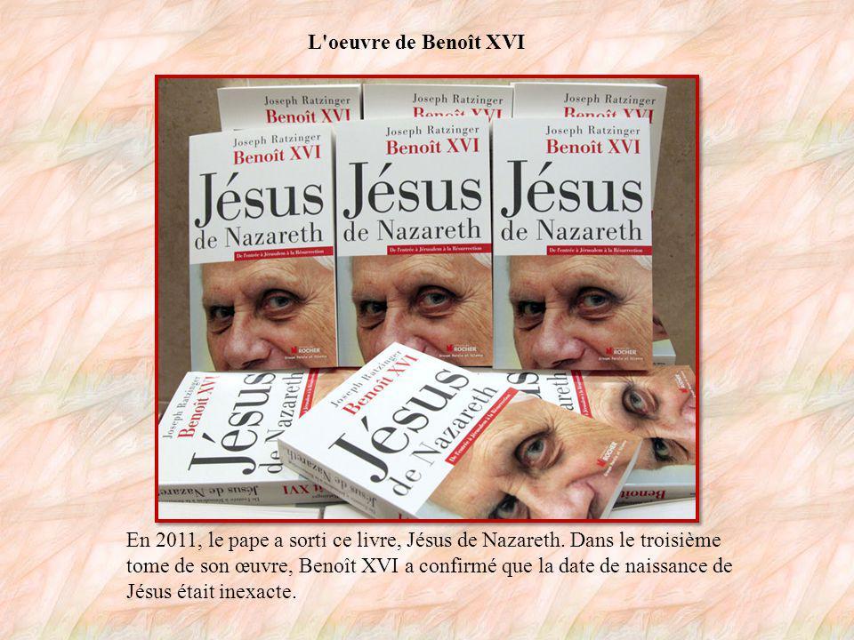 La maladresse du nouveau pape Durant son pontificat, le pape Benoît XVI a commis quelques maladresses, notamment en déclarant en 2006 : la pensée chrétienne fait plus de place à la raison que l Islam .