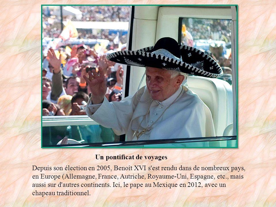 L oeuvre de Benoît XVI En 2011, le pape a sorti ce livre, Jésus de Nazareth.