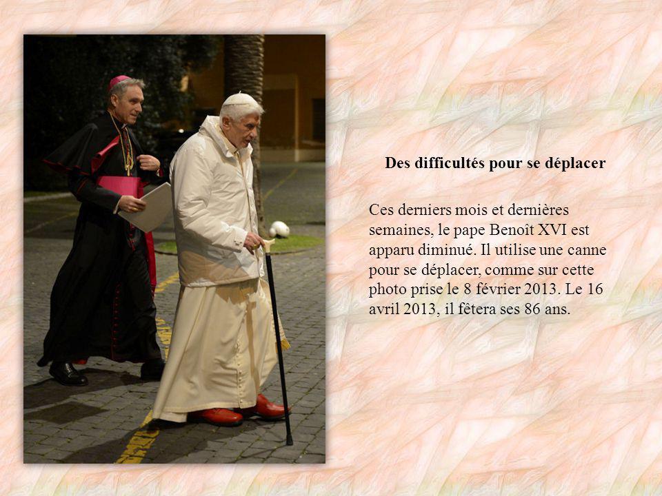 Le pape a quitté ses fonctions le 28 février 2013.