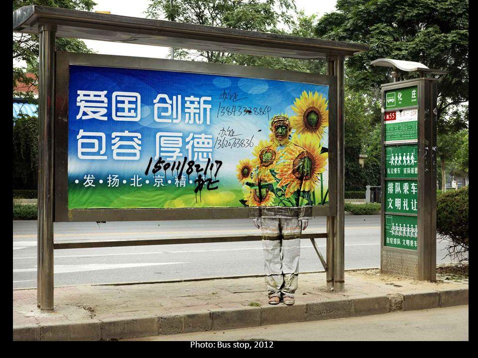 Photo: Bus stop, 2012