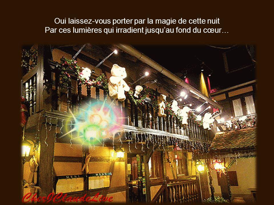 De ma lointaine Alsace, je viens au grand galop Vous souhaiter le plus merveilleux noël Que ce moment soit emprunt de douceur et de bonheur…