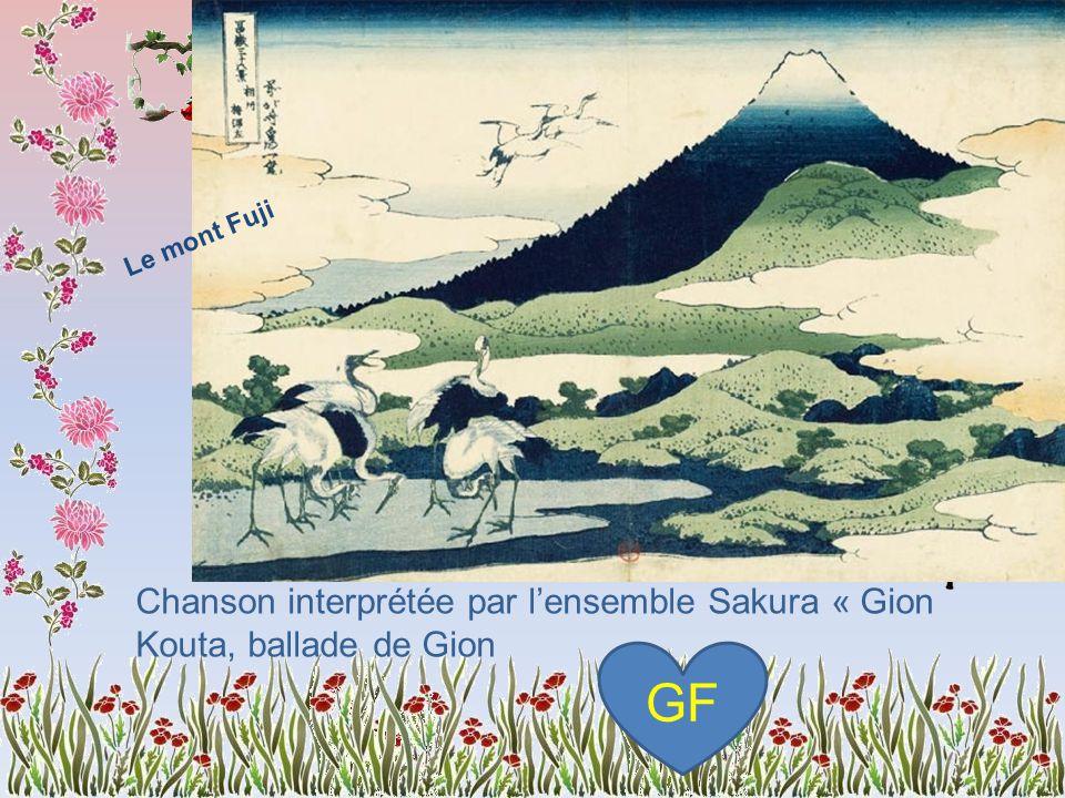 « La Belle du soir », du Dit du Genji ou Genji monogatari, récit fondamental de la littérature japonaise en 54 chapitres.