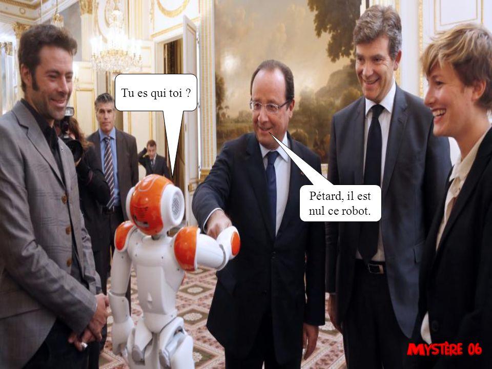 François, c est à toi de parler. Attends, je crois quon me dit que léquipe de France a perdue.