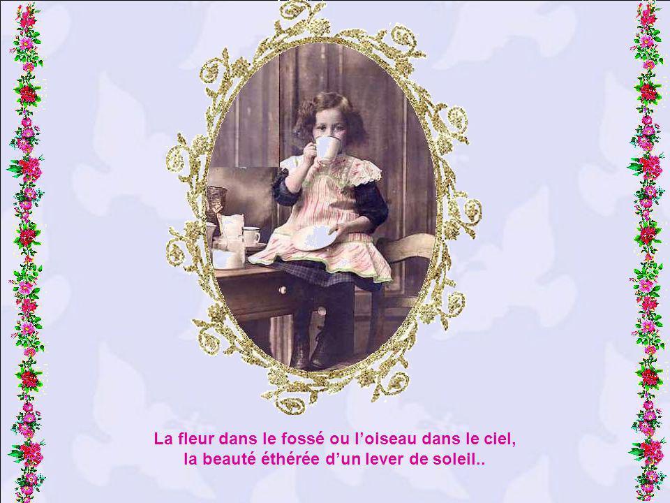 Ô comme je voudrais garder mon coeur denfant ! Aller de par la France, toujours mémerveillant…