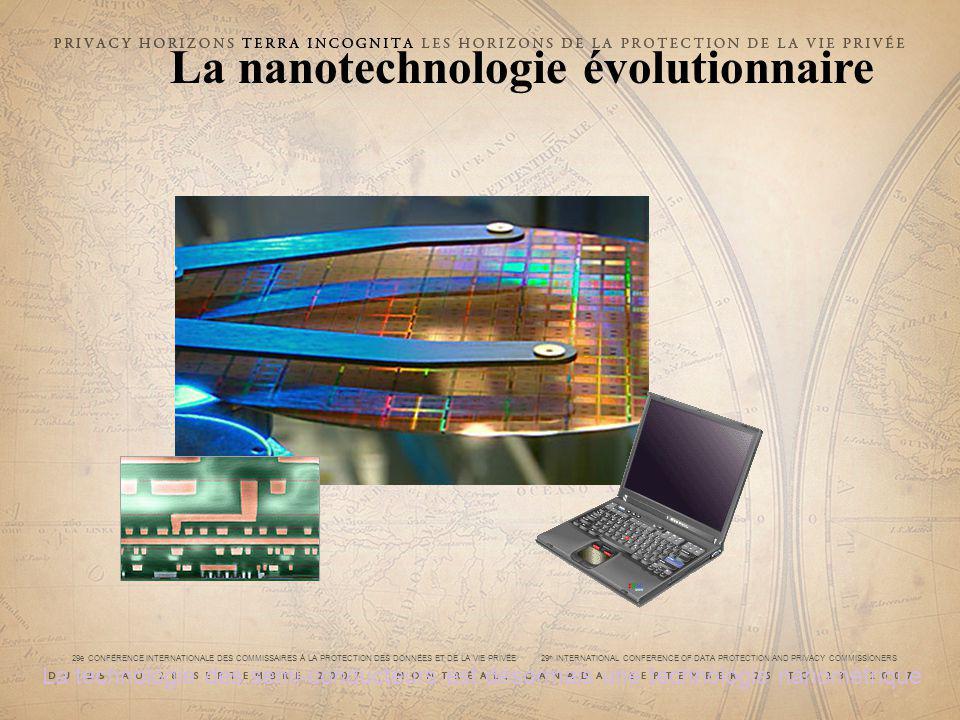 29e CONFÉRENCE INTERNATIONALE DES COMMISSAIRES À LA PROTECTION DES DONNÉES ET DE LA VIE PRIVÉE 29 th INTERNATIONAL CONFERENCE OF DATA PROTECTION AND PRIVACY COMMISSIONERS La nanotechnologie évolutionnaire La technologie des semi-conducteurs est désormais une technologie nanométrique