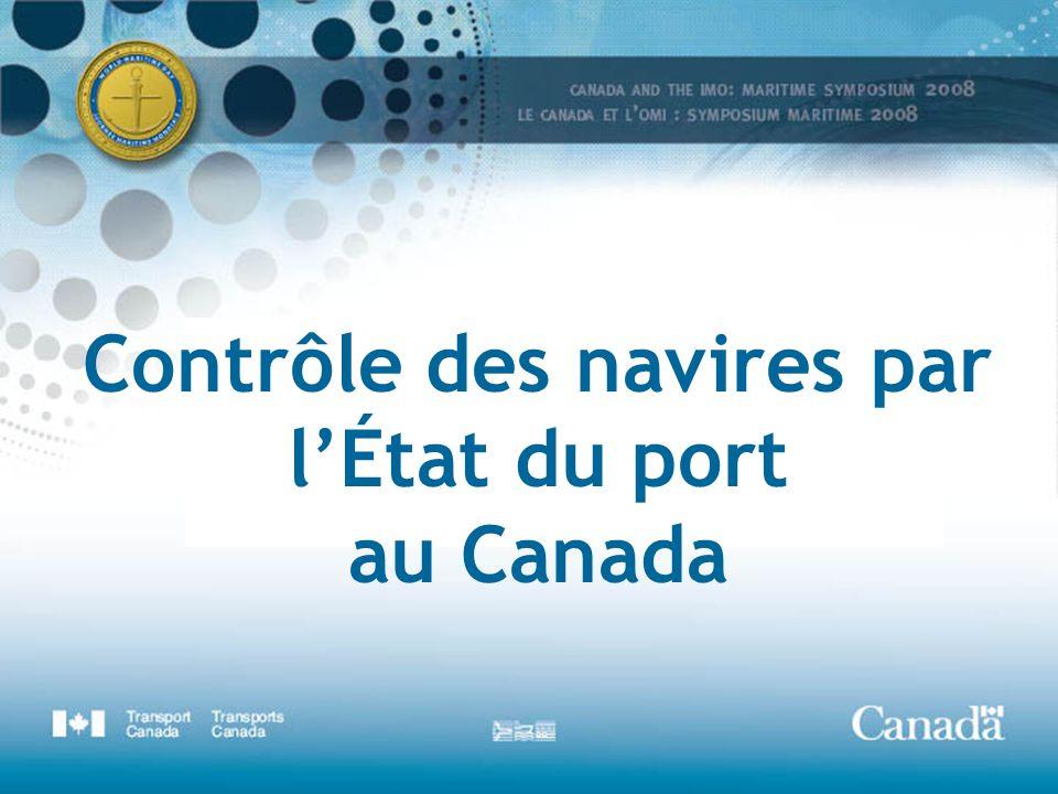 Contrôle des navires par lÉtat du port au Canada