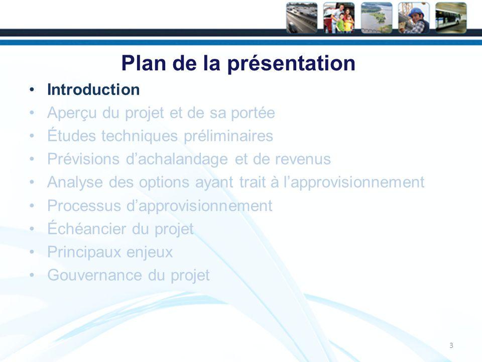 Échéancier du projet 34