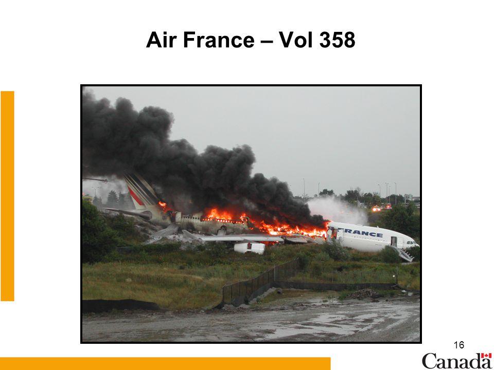 16 Air France – Vol 358