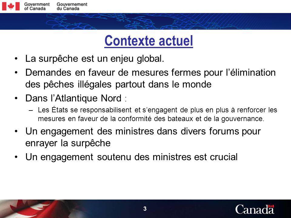 3 3 Contexte actuel La surpêche est un enjeu global.
