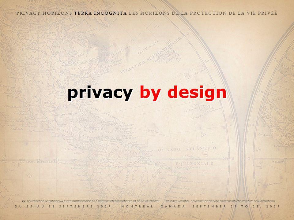 29e CONFÉRENCE INTERNATIONALE DES COMMISSAIRES À LA PROTECTION DES DONNÉES ET DE LA VIE PRIVÉE 29 th INTERNATIONAL CONFERENCE OF DATA PROTECTION AND PRIVACY COMMISSIONERS 1.1.
