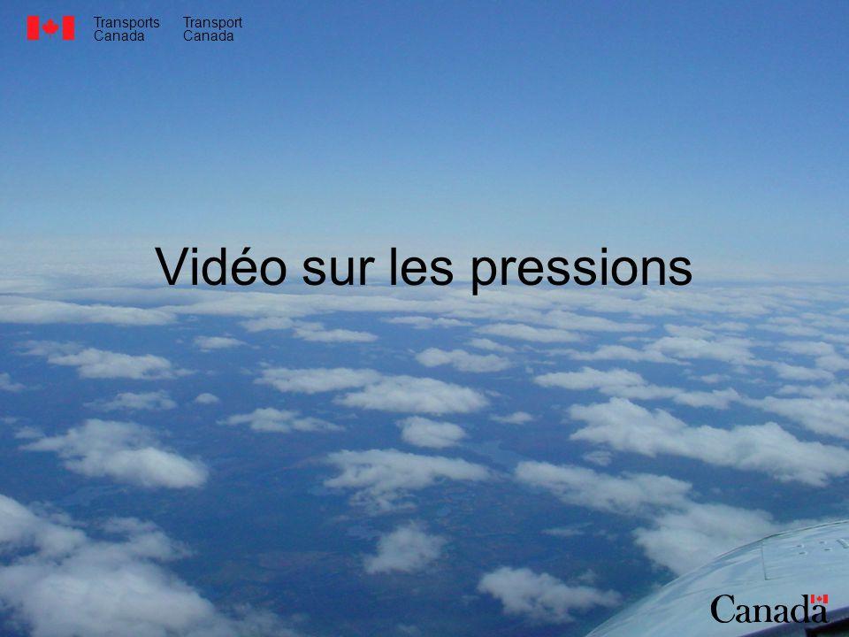 Transports Canada Transport Canada Vidéo sur les pressions