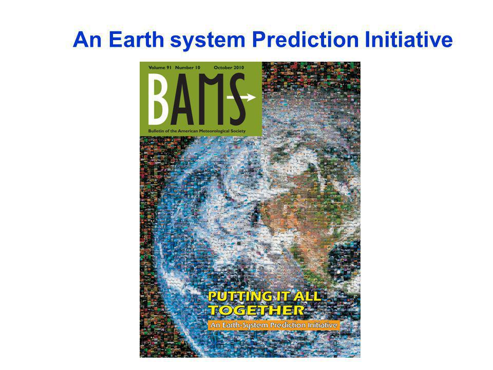 An Earth system Prediction Initiative