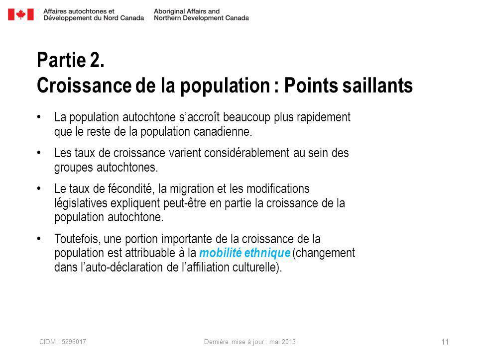 La population autochtone saccroît beaucoup plus rapidement que le reste de la population canadienne.