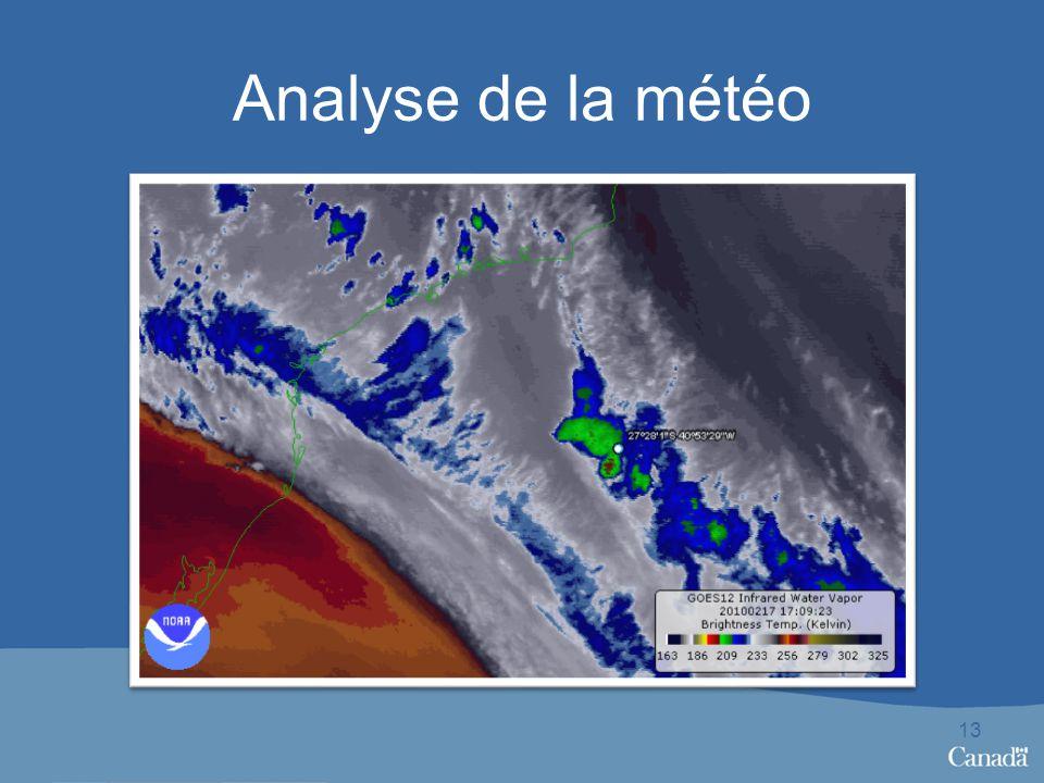 Analyse de la météo 13