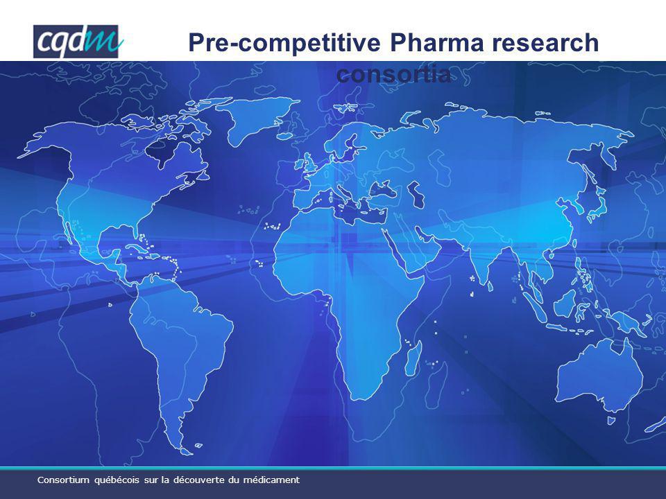 Consortium québécois sur la découverte du médicament A fully mutualized consortium