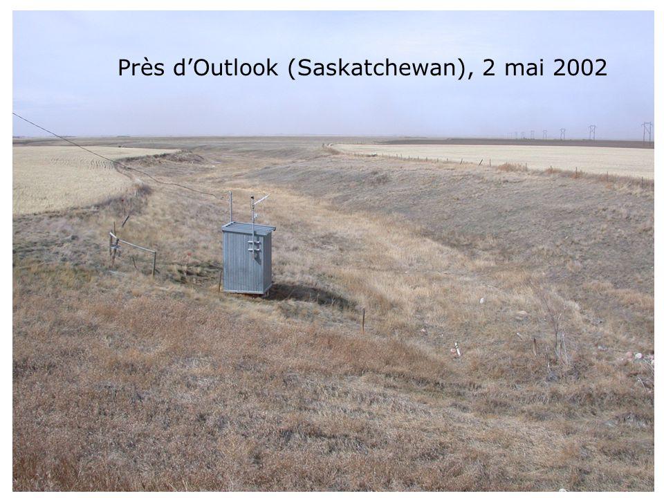 Près dOutlook (Saskatchewan), 2 mai 2002