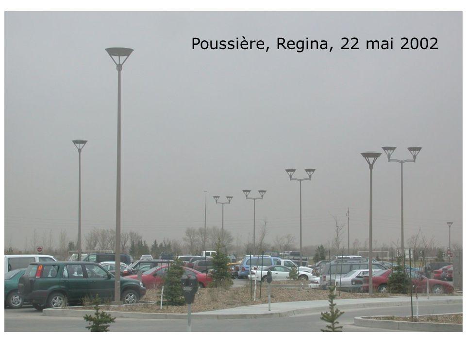 Poussière, Regina, 22 mai 2002