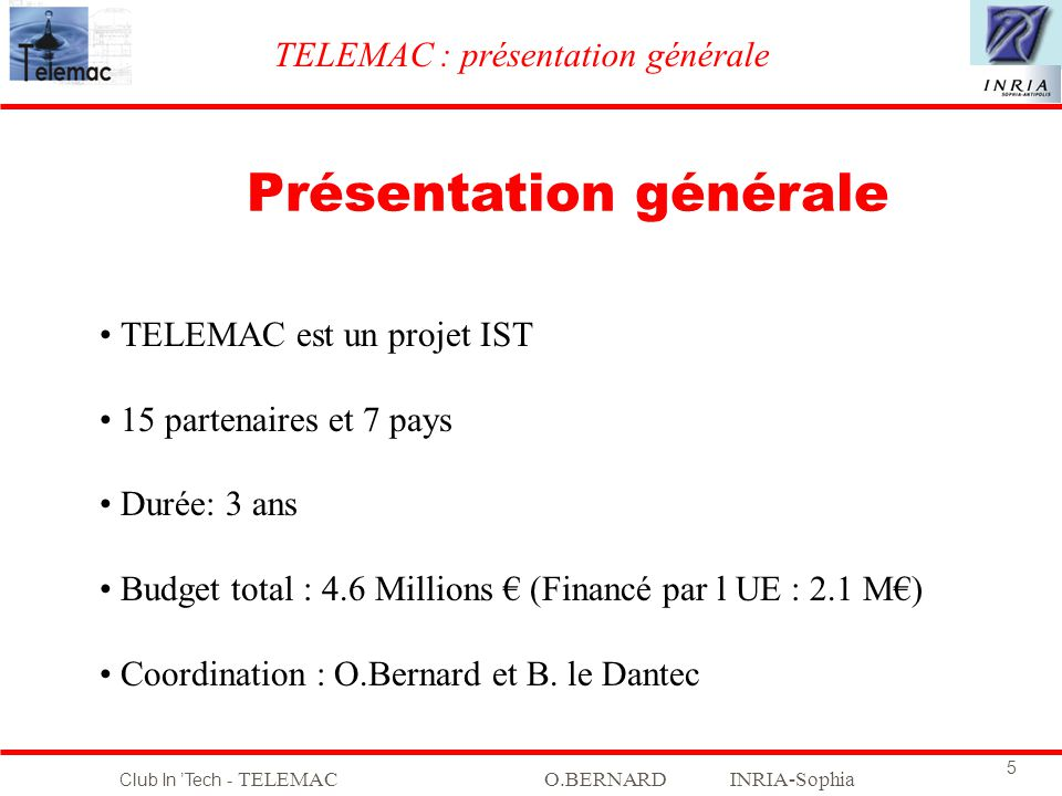 Club In Tech - TELEMACO.BERNARD INRIA-Sophia 26 Etude du plan de phase Bassin dattraction du point de fonctionnement NORMAL Marge de stabilité .