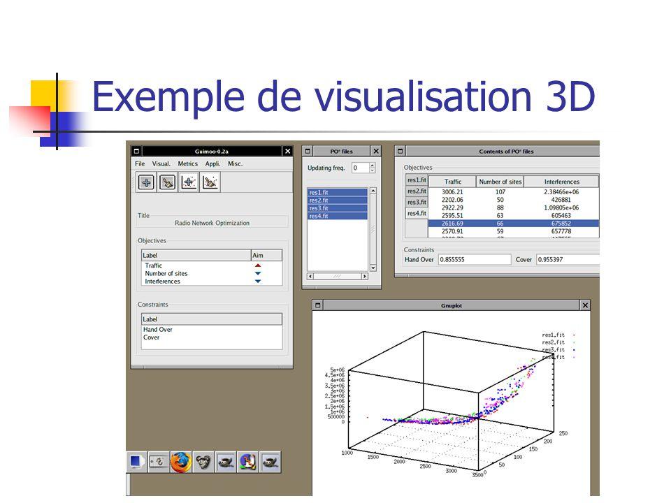 Exemple de visualisation 3D