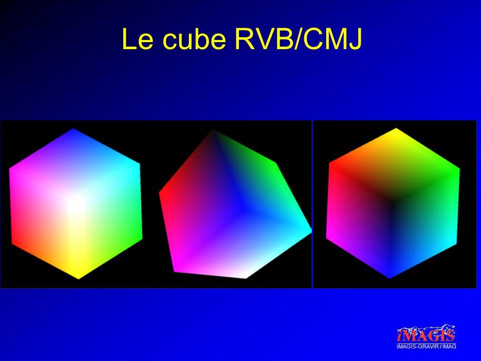 iMAGIS-GRAVIR / IMAG Le cube RVB/CMJ