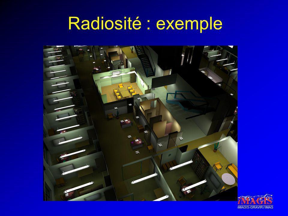 iMAGIS-GRAVIR / IMAG Radiosité : exemple