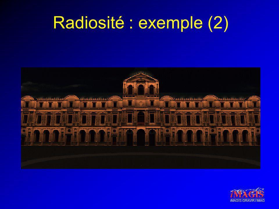 iMAGIS-GRAVIR / IMAG Radiosité : exemple (2)