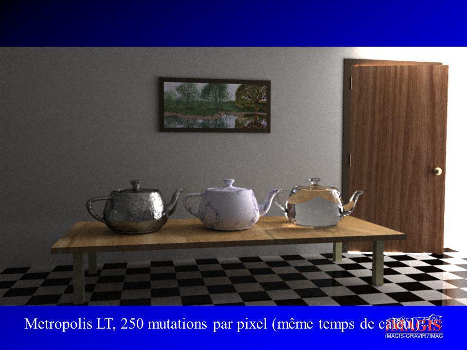 iMAGIS-GRAVIR / IMAG Metropolis LT, 250 mutations par pixel (même temps de calcul)