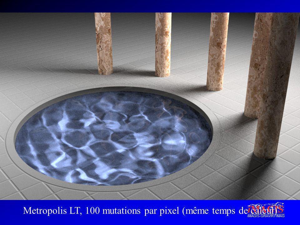 iMAGIS-GRAVIR / IMAG Metropolis LT, 100 mutations par pixel (même temps de calcul)