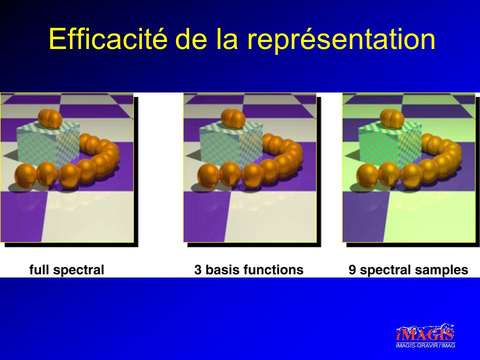 iMAGIS-GRAVIR / IMAG Efficacité de la représentation