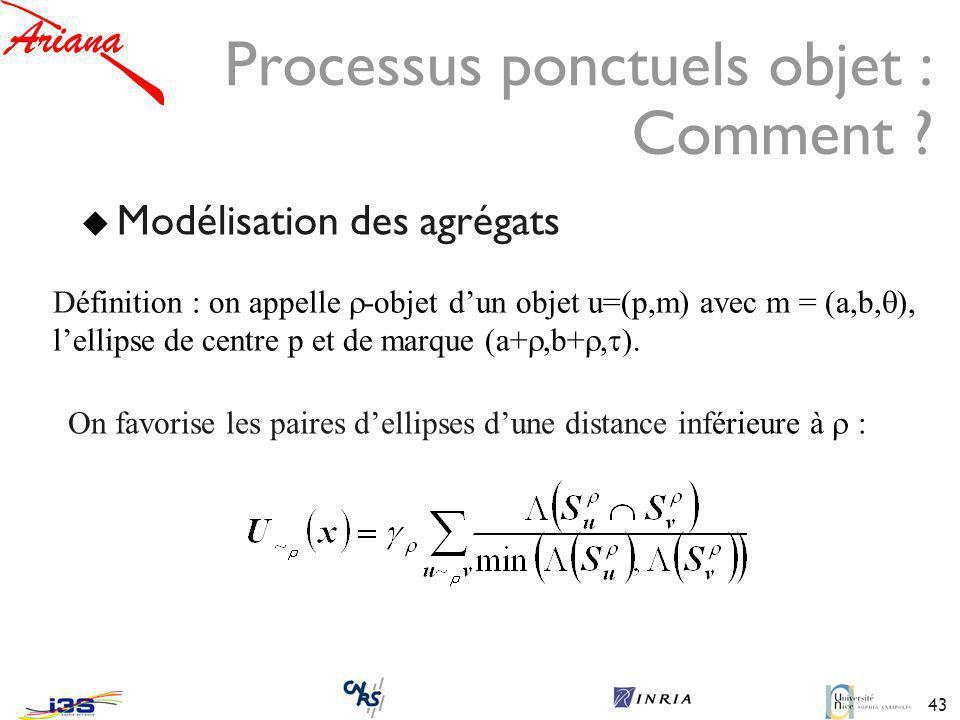 43 Processus ponctuels objet : Comment .