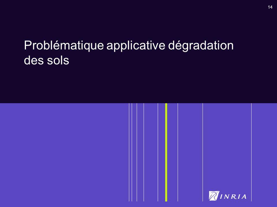 14 Problématique applicative dégradation des sols