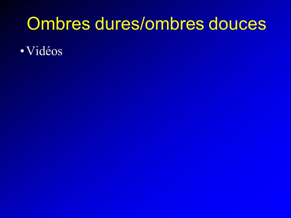 Ombres dures/ombres douces Vidéos